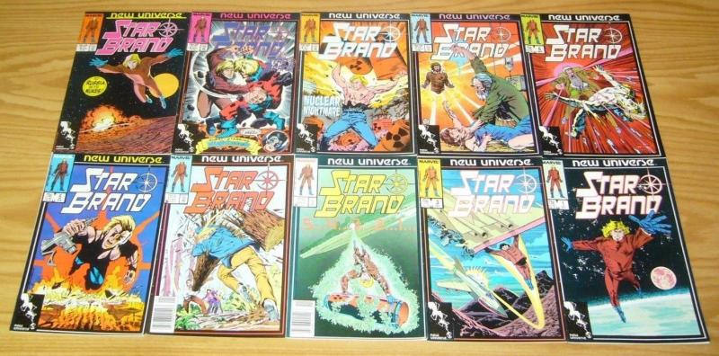 Star Brand #1-19 VF/NM complete series + annual + pitt - marvel new universe set