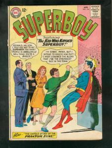 SUPERBOY #104 1963-ORIGIN OF THE PHANTOM ZONE-DC-SILVER G