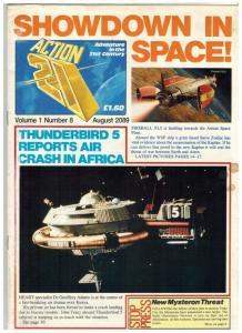 ACTION 21 8 (8/20/89) VG GERRY ANDERSON GLOSSY MAGAZI