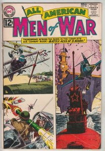 All-American Men of War #93 (Sep-62) FN/VF Mid-High-Grade Johhny Cloud