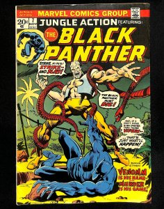 Jungle Action #7 Black Panther!