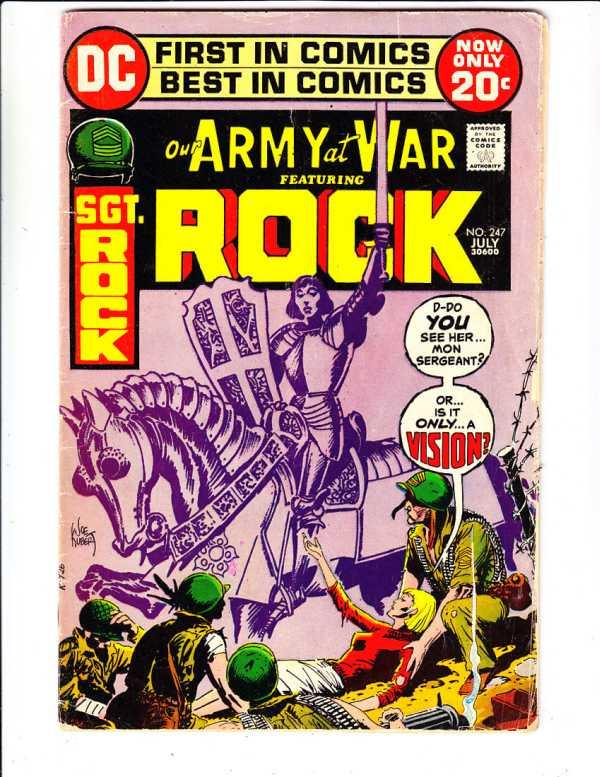 Our Army at War #247 (Jul-72) VG Affordable-Grade Sgt. Rock, Easy Co.