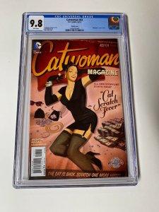 Catwoman 43 Cgc 9.8 Bombshell Variant Dc Comics 2015