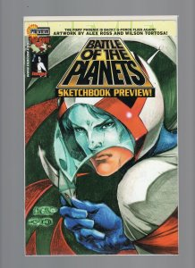Battle of the Planets Sketchbook Preview DF Dynamic Forces Lim Ed w/ COA NM- 9.2