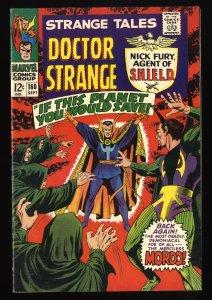 Strange Tales #160 FN 6.0 Marvel Comics Nick Fury Doctor Strange Torch