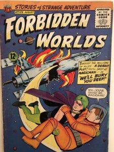 Forbidden Worlds#129,VG,.... here's Herbie!!