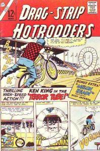 Drag-Strip Hotrodders #14 (Mar-67) FN Mid-Grade Ken King, Scot Jackson