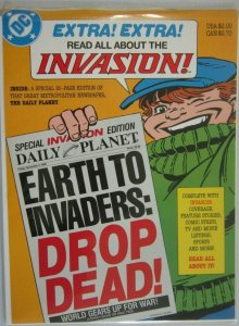 Invasion Daily Planet #1 - 6.0 FN (1988)