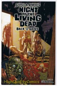 NIGHT of the LIVING DEAD 1, NM+, Grave, George Romero, 2006, more NotLD in store