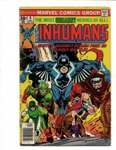 Inhumans # 8 VG Marvel Comic Book Black Bolt Medusa Avengers Hulk Thor J371