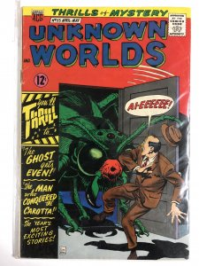 UNKNOWN WORLDS (1960-1967 ACG) 55 G+ May 1967 COMICS BOOK