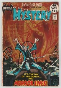 House of Mystery #198 (Jan-72) VF High-Grade Cain