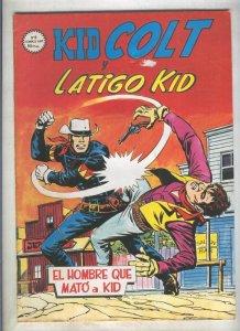 Kid Colt numero 09: El hombre que mato a Kid (numerado 1 en trasera)