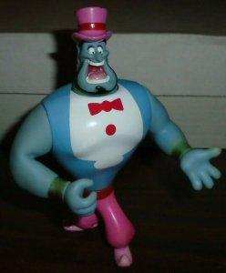 Genie Pink Hat Figure Disney Aladdin 1992 Mattel