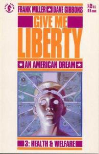 Give Me Liberty (1990 series) #3, NM- (Stock photo)