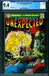 TALES OF THE UNEXPECTED #99 CGC 9.4 1967 DC NUCLEAR SUPER-HERO 2039574025