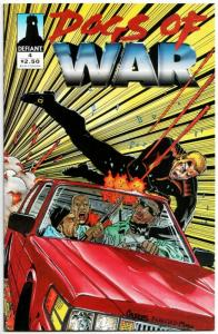 Dogs of War #4 (Defiant, 1994) VF-