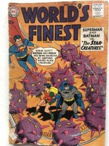 Worlds Finest 108,GD, reader. C all my comics!