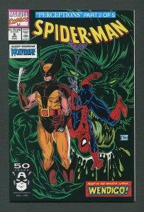 Spiderman #9 (Todd McFarlane )  9.8 NM-MT  April 1991