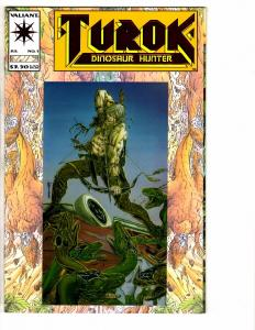 5 Valiant Comic Books Turok 1 Vision 1 Solar Man Atom 27 Magnus 25 Vintage 1 RC2