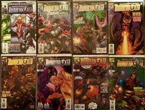 THUNDERBOLTS 1995 ( MARVEL) #28-33 44,45NM CONDITION 8 BOOK LOT