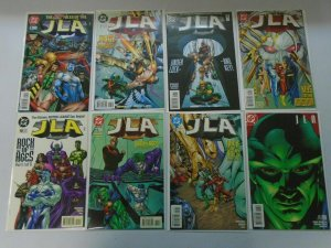 JLA lot 52 different from #5-61 8.0 VF and better (1997-2002)