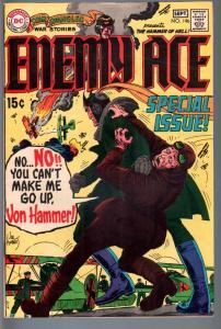 STAR SPANGLED WAR STORIES #146-1969-DC WAR COMIC-SILVER AGE-VF minus-ENEM VF-