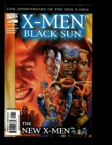 Lot Of 7 X-Men Marvel Comics Black Sun # 1 2 3 4 5 Divided We Stand # 1 2 EK6