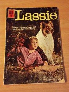Lassie #57 ~ VERY GOOD VG ~ 1962 DELL Comics