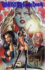 Vampirella Monthly #26F VG; Harris | low grade comic - save on shipping - detail