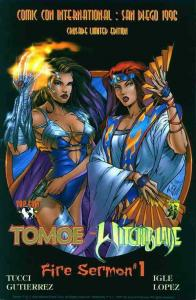 Tomoe/Witchblade: Fire Sermon Ashcan #1 VF/NM; Crusade | save on shipping - deta
