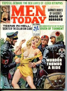 Men Today 11/1967-Emtee-Norman Saunders-Nazi terror-female torture-G