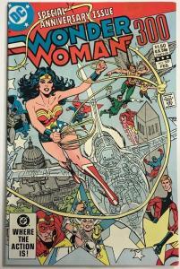 WONDER WOMAN#300 VF/NM 1982 DC BRONZE AGE COMICS