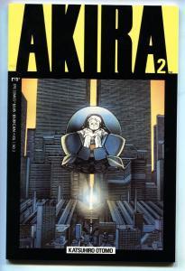 Akira #2 1988 comic  Katsuhiro Otomo- Epic / Marvel Manga Japanese comic VF