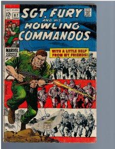 Sgt. Fury #67 (Marvel, 1969)