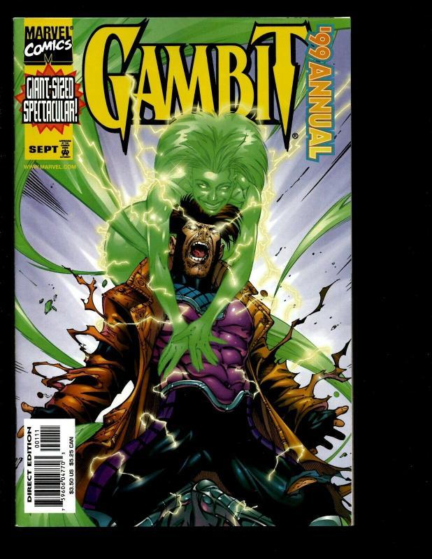 8 Gambit Marvel Comics # 20 21 22 23 24 25 Annual '99 '00 X-Men Mystique EK10