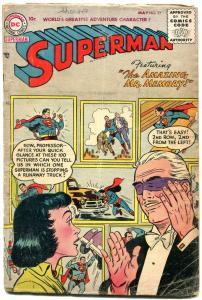 Superman #97 1955- Mr Memory- DC Silver Age G+