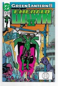 Green Lantern: Emerald Dawn II #4 (1991) VF