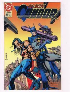 Black Condor #12 VF DC Comics Comic Book Augustyn May 1993 DE40 AD14