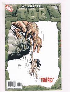 Joe Kubert's Tor # 6 Of 6 NM 1st Print DC Comic Book 2008 Jungle Super-Hero S61