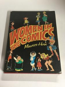 Women In The Comics Maurice Horn Dust Jacket Fine Book Nm B6