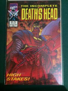 The Incomplete Death's Head #4