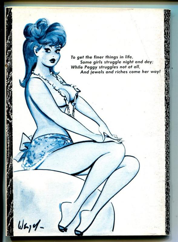 Broadway Laughs 4/1967-jokes-spicy cartoons-Pete Wyma-Busty Betty-FN+