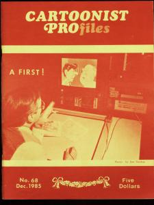 CARTOONIST PROFILES #68-1985-MAD MAGAZINE-SWAMP THING FN