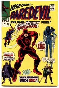 DAREDEVIL #27 1967-Marvel Silver-Age-Spider-Man-VF/NM