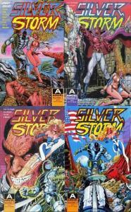 SILVER STORM (1990 AI) 1-4  Steven Buttler  COMPLETE!