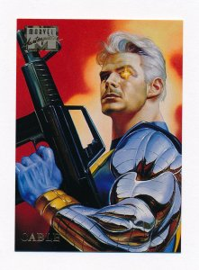 1996 Marvel Masterpieces #6 Cable