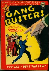Gang Busters #22 1951-DC Golden Age Crime- Superboy- Clown cover FN