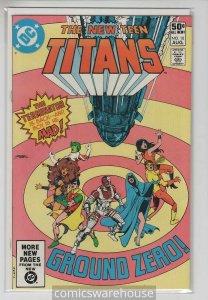 NEW TEEN TITANS (1982 DC) #10 NM A07237