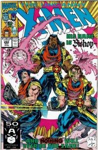 Uncanny X-Men #282 John Byrne 1st Bishop NM